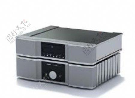 影碟机3d模型电器模型图片21