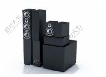 音箱3d模型电器模型图片8