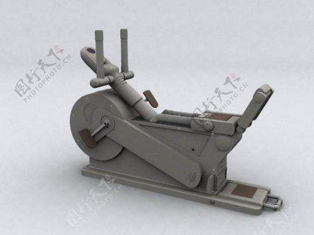 文化体育用品3d健身器材模型电器模型24