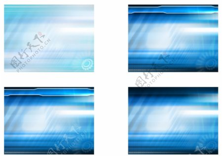 蓝色海洋PPT