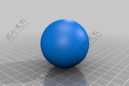 光滑的球体
