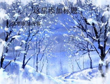 冰天雪地桌面背景13
