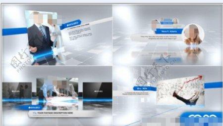公司企业宣传视频动画AE模板