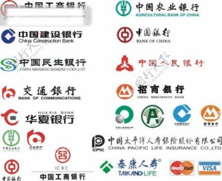 中国各大银行保险标志