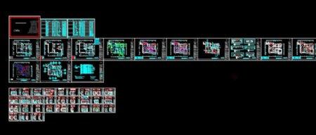 CAD室内图纸素材