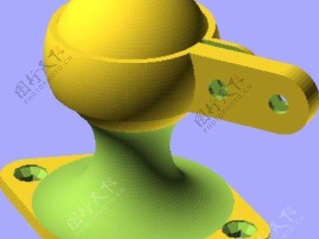 基本安装球接头线夹