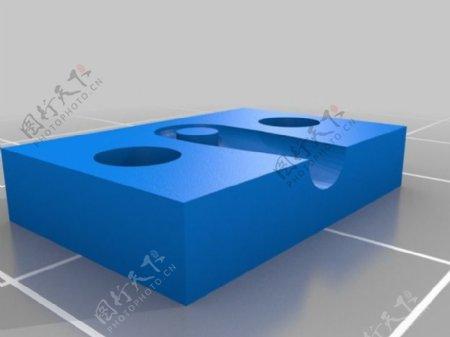 Traxxas5347定制安装夹具的三角型打印机