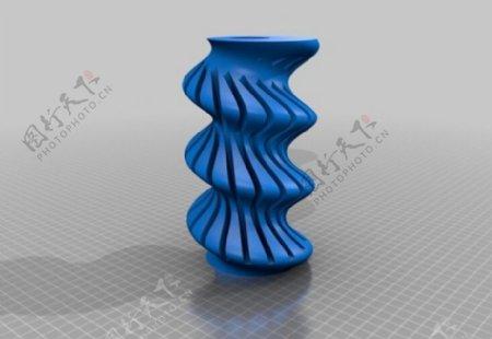 扭曲的花瓶