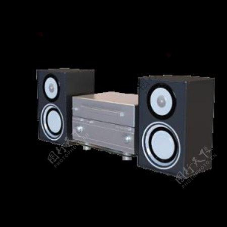 3D音响模型