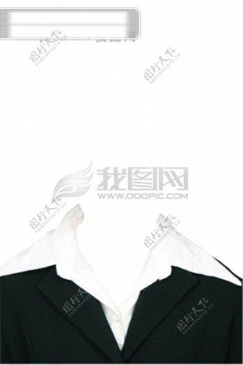 女士证件照服装证件照服装素材