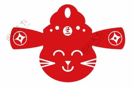 发财猫猫卡通猫图片