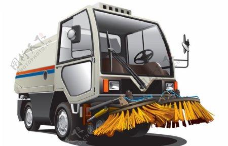 清洁车图片