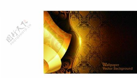 暗金黄金背景图片
