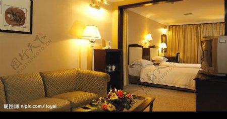 酒店豪华标准间图片