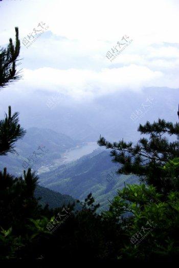 丽水大山峰图片