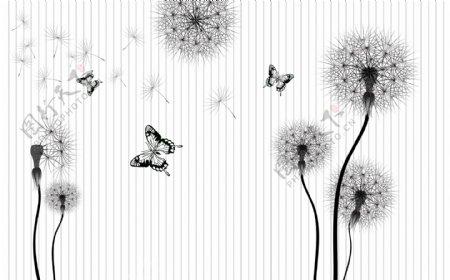 花鸟背景墙