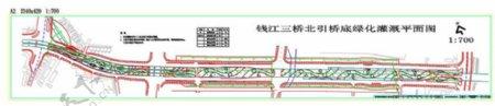 灌溉CAD景观图纸