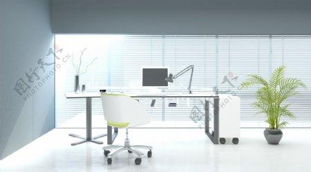 明亮办公室设计图片