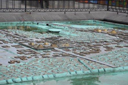 微型城市模型