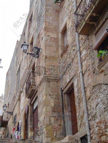 欧洲风格古建筑
