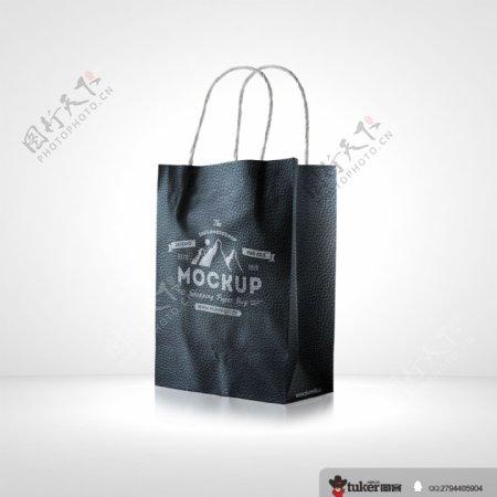 黑色复古包装袋