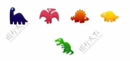 卡通可爱恐龙