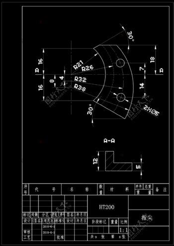 机械素材CAD机械图纸