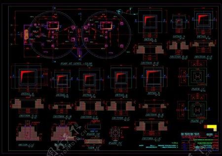 机械素材设计CAD机械图纸
