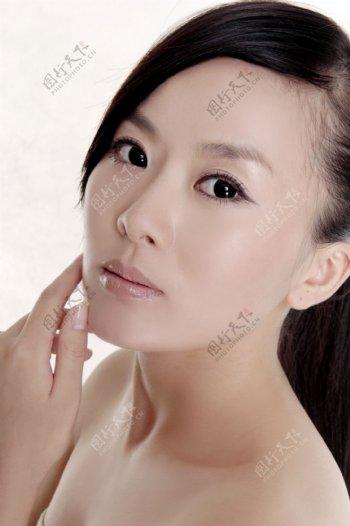 美容模特美女图片