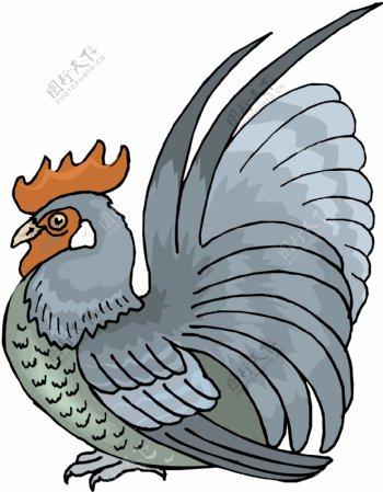 家禽家畜动物矢量素材EPS格式0071