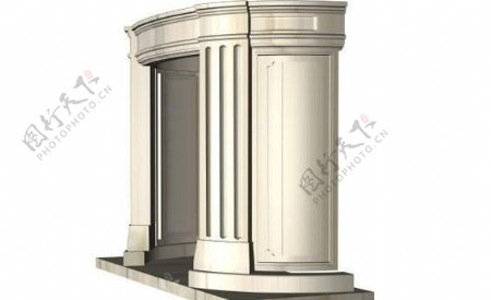 建筑构件之杂项3D模型e006