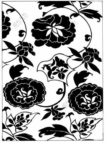 装饰图案两宋时代图案中国传统图案128