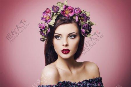 红唇欧美美女图片