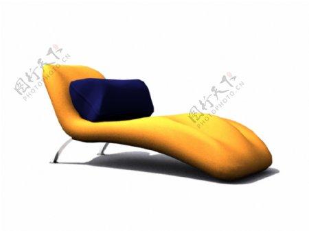 海绵休闲躺椅躺椅床休闲的毛皮
