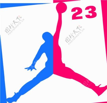 nba飞人乔丹logo图片