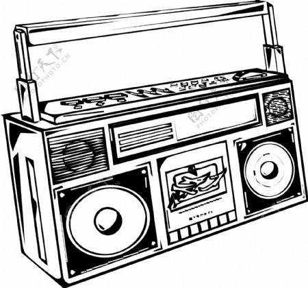音乐素材收音机