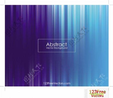 自由抽象的蓝色背景模板