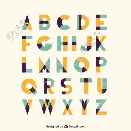 复古复古字体