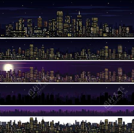 夜晚城市效果图片