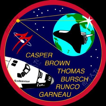 美国宇航局sts77补丁
