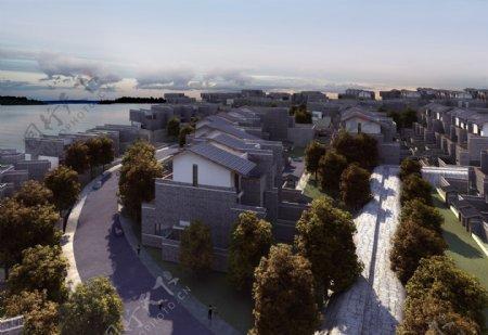 海边别墅环境设计图片