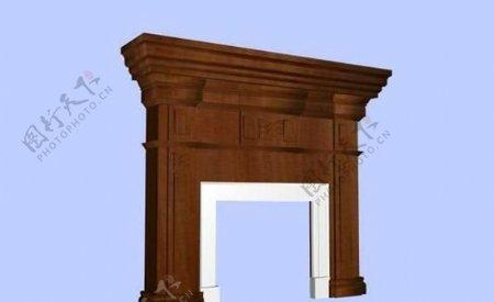 建筑构件之杂项3D模型e008
