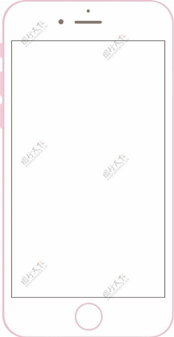 iPhone6s苹果6s手机矢量图ai