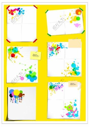 笔刷设计应用背景图案矢量素材AI格式0226