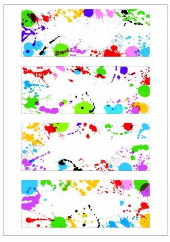 笔刷设计应用背景图案矢量素材AI格式0357