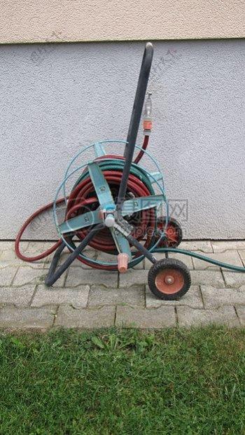 园艺灌溉电线车