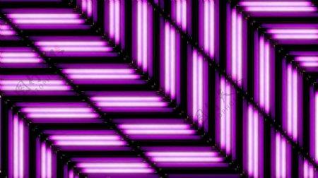 紫色环路炫光酒吧VJ视觉特效