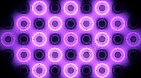 酒吧VJ紫色辉光圆圈背景视频素材
