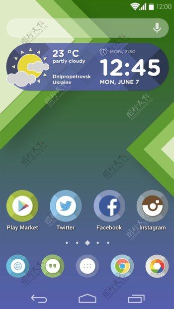 android手机主题界面展示设计