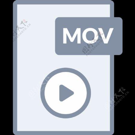 带文件类型标注的文档SVG图标集